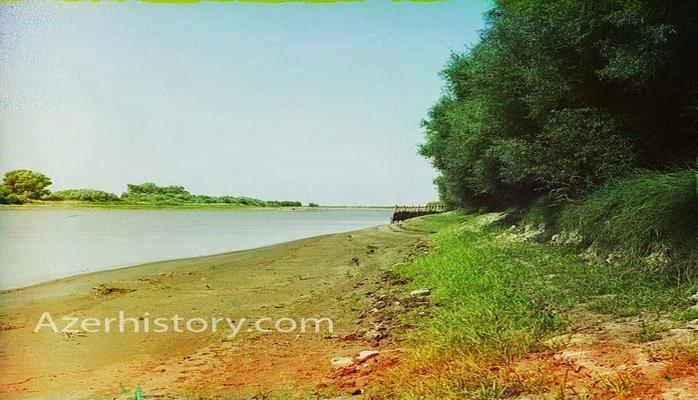 Азербайджан в 1912 г.: Мугань, Саатлы, реки Кура, Аракс (ФОТО)