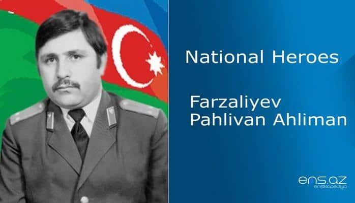 Farzaliyev Pahlivan Ahliman