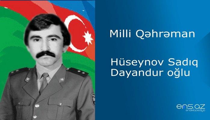 Sadıq Hüseynov Dayandur oğlu