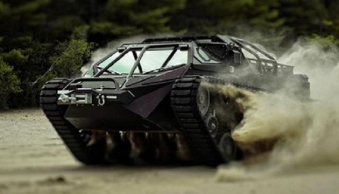 Dünyada ilk dəfə lüks tank nümayiş etdirilib