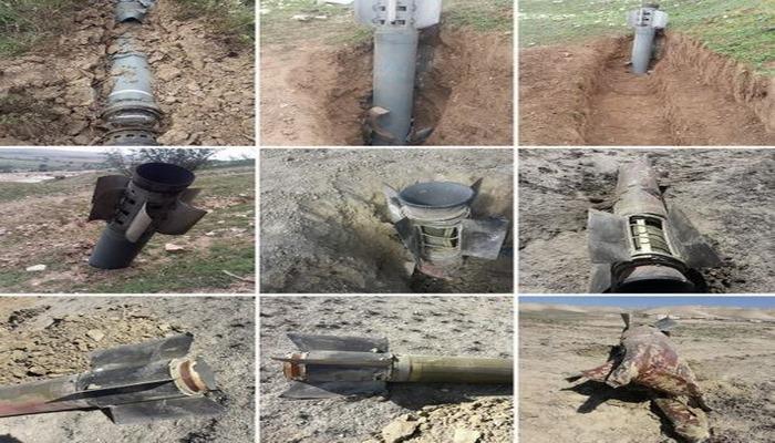 Bərdəyə 144 ədəd bombacıq atılıb - ANAMA
