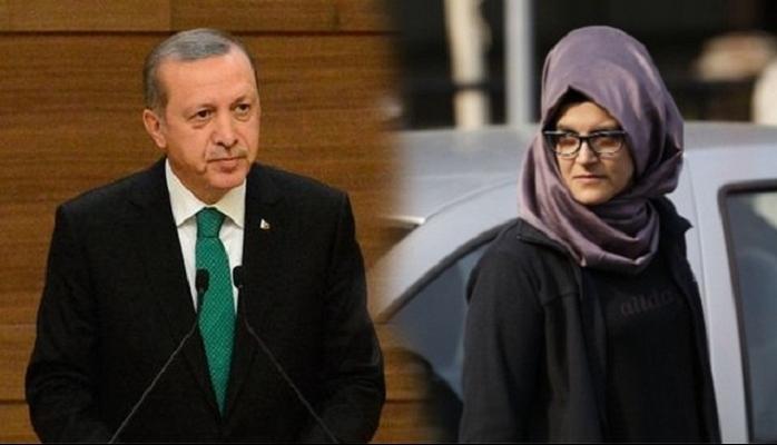 """Nişanlısı Kaşoqi barədə həqiqətləri açıqladı: """"Ərdoğanla yaxın dost idi"""""""
