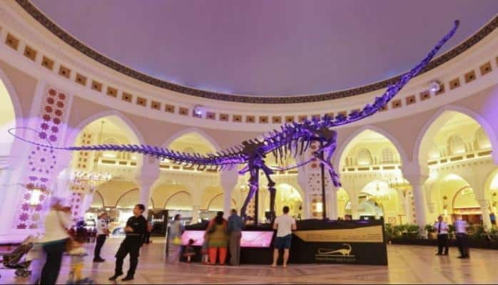 Dubayda dinozavr skeleti təxminən 4 milyon dollara hərraca çıxarılır