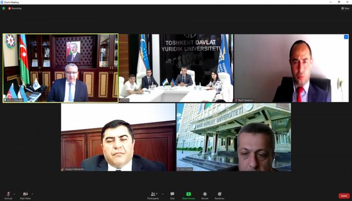 БГУ будет сотрудничать с Ташкентским государственным юридическим университетом