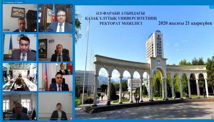 БГУ подписал соглашение с Казахским национальным университетом по программе двойного диплома