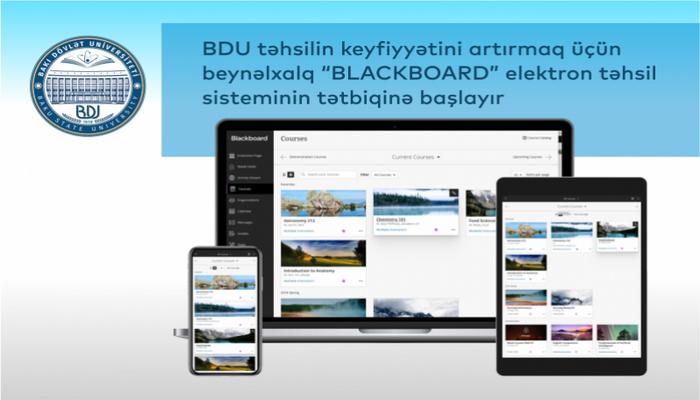 БГУ запускает систему электронного образования «BLACKBOARD»
