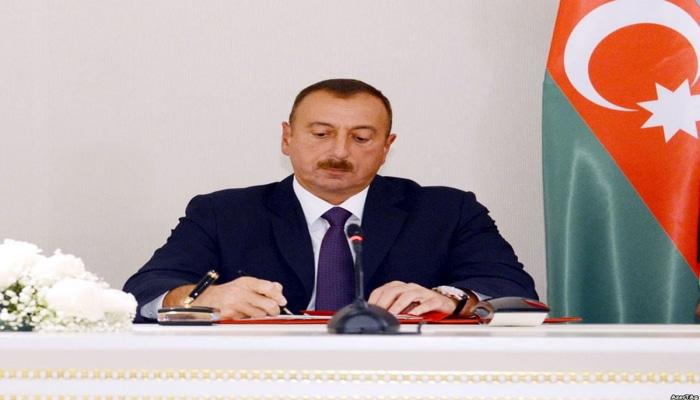 """Bir qrup hərbi qulluqçu """"Vətən uğrunda"""" medalı ilə təltif edildi"""