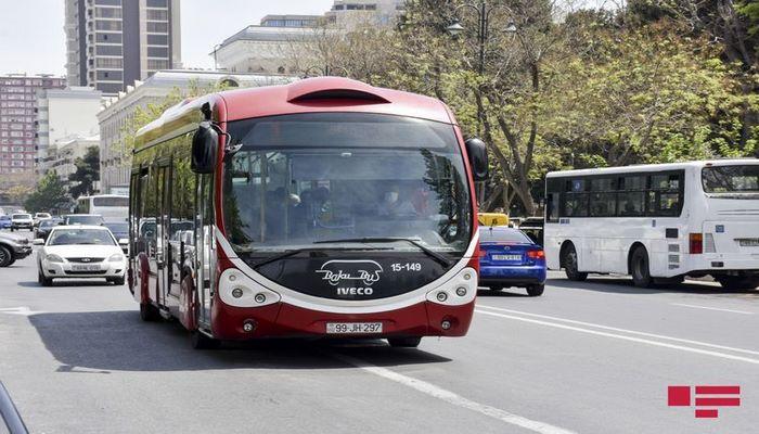 BNA: Şənbə-bazar müntəzəm və ekspres xətlər üzrə avtobusların fəaliyyəti dayandırılacaq