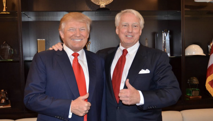 Брат президента США госпитализирован