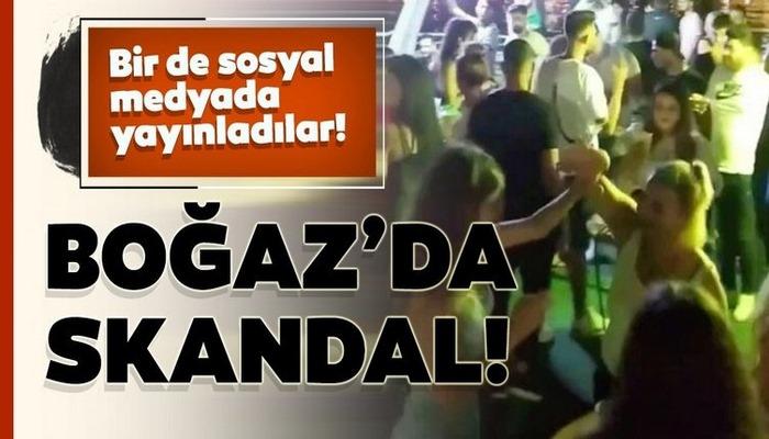 Bu kadarına da pes! Boğaz'daki 'koronavirüs partileri' devam ediyor!
