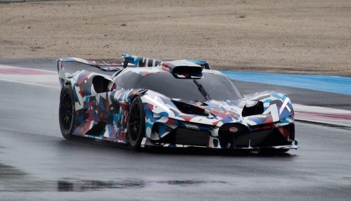 Bugatti yeni ekstremal hiperkar hazırlayıb