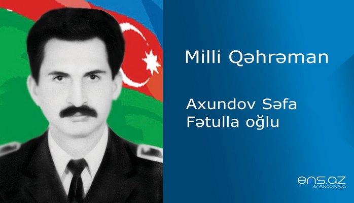 Səfa Axundov Fətulla oğlu