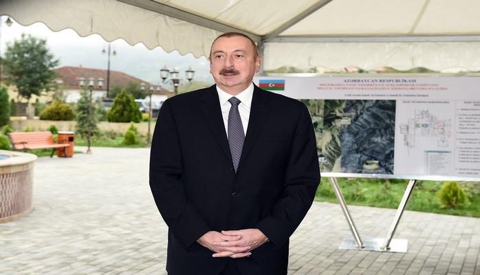 Ильхам Алиев: В настоящее время мы получаем некоторые кредиты, однако и этот процесс, можно сказать, остановлен