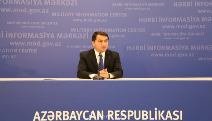 Хикмет Гаджиев: Азербайджанская армия продолжает вести решительные бои