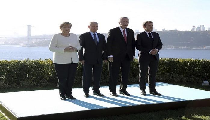 Türkiyə, Rusiya, Fransa və Almaniya liderləri Suriyanın ərazi bütövlüyünə bağlılıqlarını təsdiq ediblər
