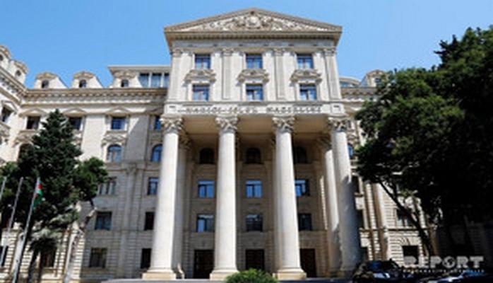 МИД Азербайджана призвал сопредседателей принять меры для предостережения Армении от шагов и заявлений, подрывающих переговорный процесс