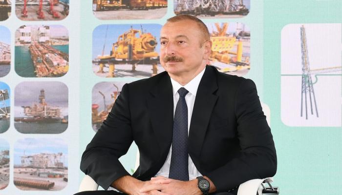 """Prezident: """"Neft bizim üçün məqsəd deyil, daha yaxşı həyat yaratmaq, daha yaxşı ölkə qurmaq üçün vasitədir"""""""