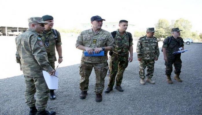 Əlahiddə Ümumqoşun Orduda beynəlxalq silahlara nəzarət inspeksiyası keçirilib