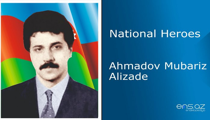 Ahmadov Mubariz Alizade