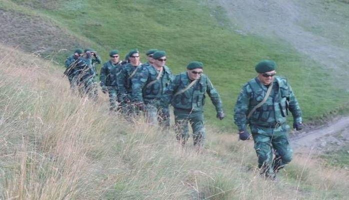 Наши пограничники в 70 метрах от врага