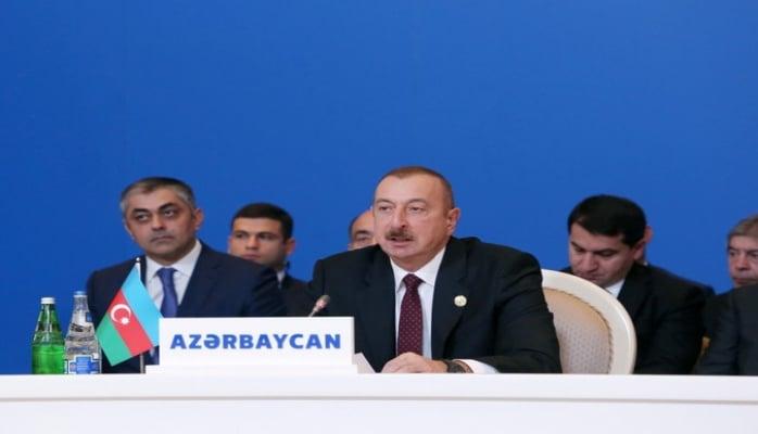 İlham Əliyev: 'Məscidləri dağıdan Ermənistan müsəlman ölkələri ilə dost ola bilməz'
