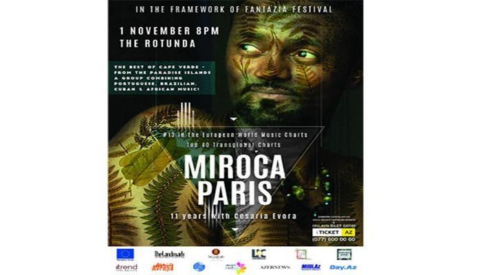 Африканский Стинг представит в Баку джем-сешн Островов Зелёного Мыса