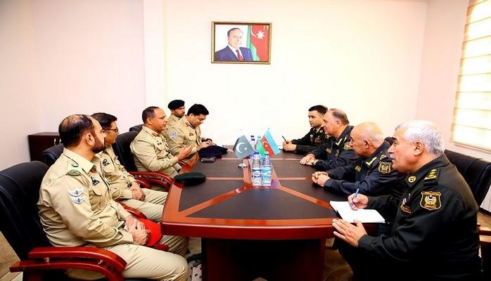 Делегация Вооруженных сил Пакистана находится с визитом в Азербайджане