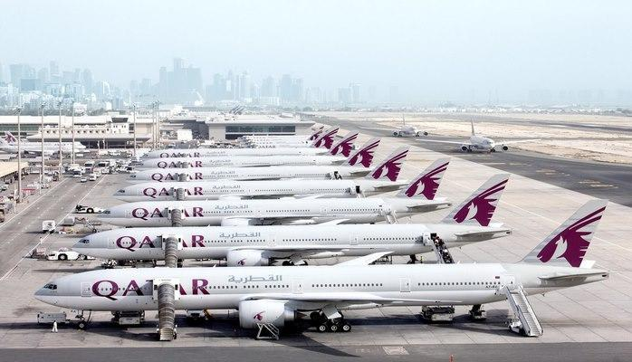 Рейс Доха-Баку отменен