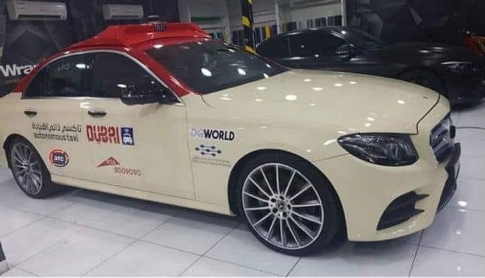 В Дубае представлено первое беспилотное такси