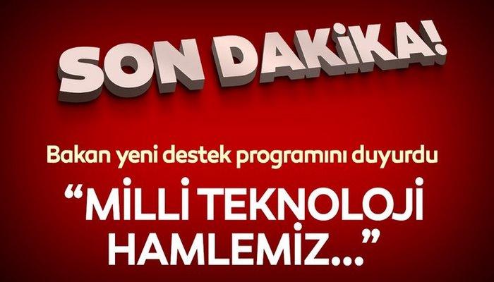 """Bakan Varank yeni destek programını açıkladı! """"Milli teknoloji hamlemiz.."""""""