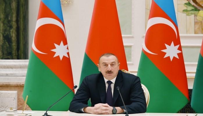 Президент: Мы благодарны Беларуси за ее объективную позицию по вопросу, связанному с урегулированием Нагорно-Карабахского конфликта