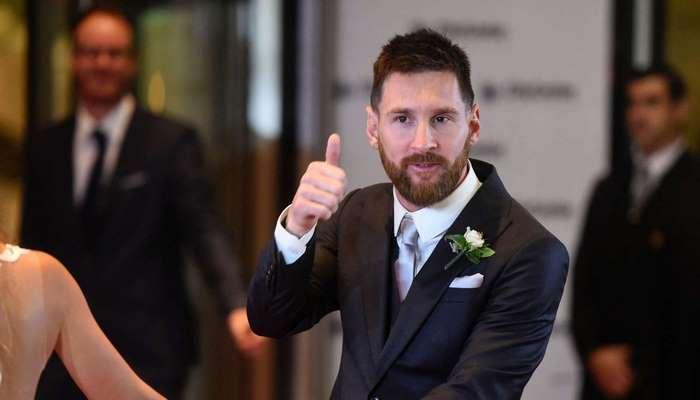 Düğün gününü Lionel Messi'ye göre ayarladı!