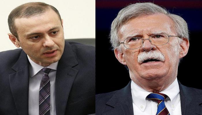 ABŞ prezidentinin müşaviri Ermənistan Milli Təhlükəsizlik Şurasının katibi ilə görüşdən imtina edib