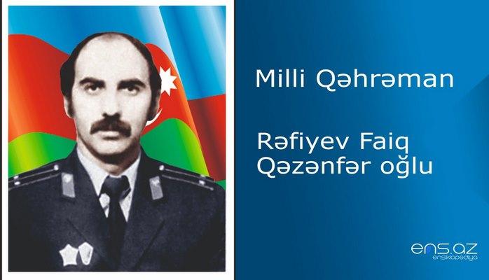Faiq Rəfiyev Qəzənfər oğlu