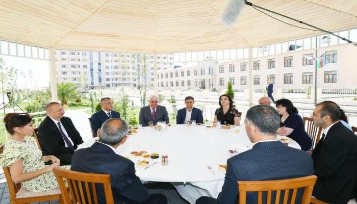 Prezident İlham Əliyev: Bu gün Azərbaycanda güclü sahibkarlar sinfi yaranıbdır