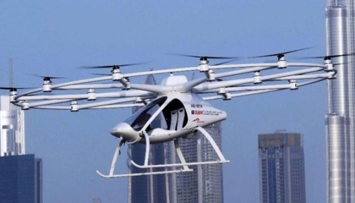 Dubayda avtonom uçan taksinin sınaqları keçirilib