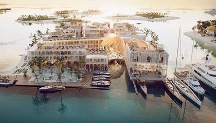 Dubayda Venesiyanın bənzəri olan otel tikiləcək