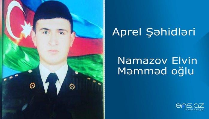 Namazov Elvin Məmməd oğlu