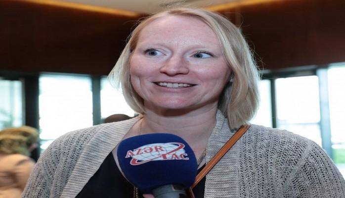 Ванесса Сарчет: Условия, созданные в Национальном центре онкологии, нас действительно впечатлили
