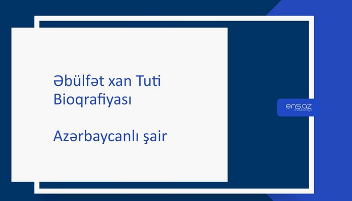 Əbülfət xan Tuti