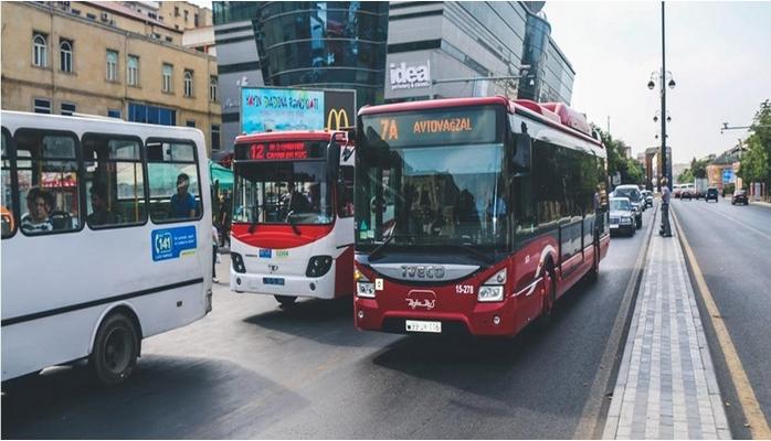 Avtobuslardan istifadə edənlərin nəzərinə