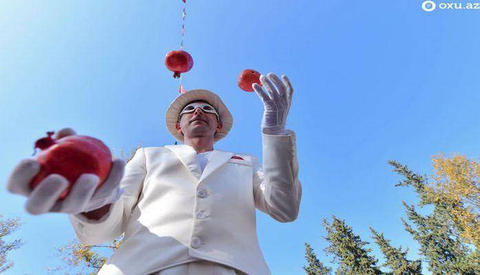 В Гейчае состоялся XIV Фестиваль граната