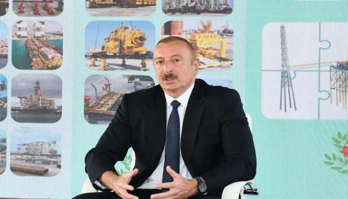 Dövlət başçısı: Azərbaycanın neft potensialına dünyada maraq azalmır, əksinə artır