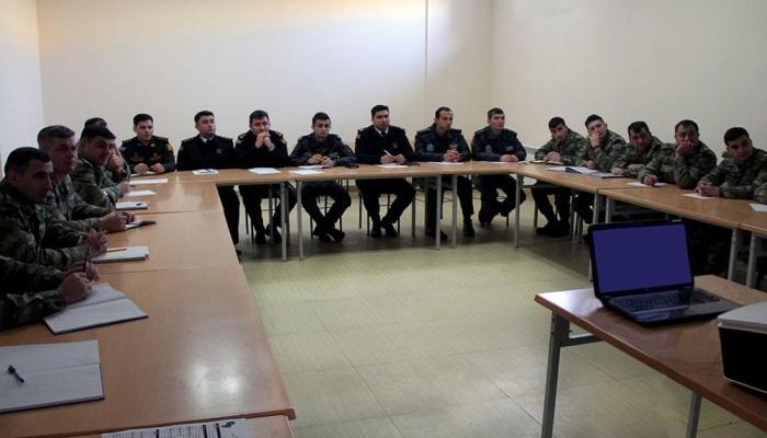 Эксперты НАТО проводят учения для азербайджанских военнослужащих