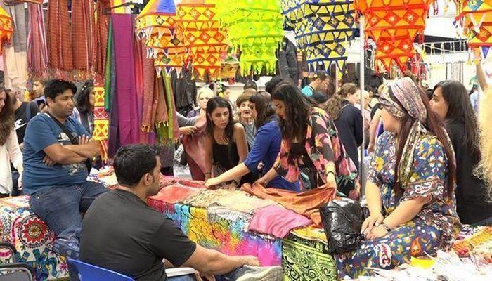 Разноцветная Индия в Азербайджане