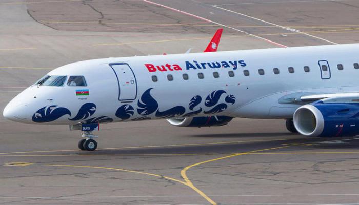 """""""Buta Airways"""" Kiyev reyslərini """"Borispol"""" hava limanına həyata keçirəcək"""