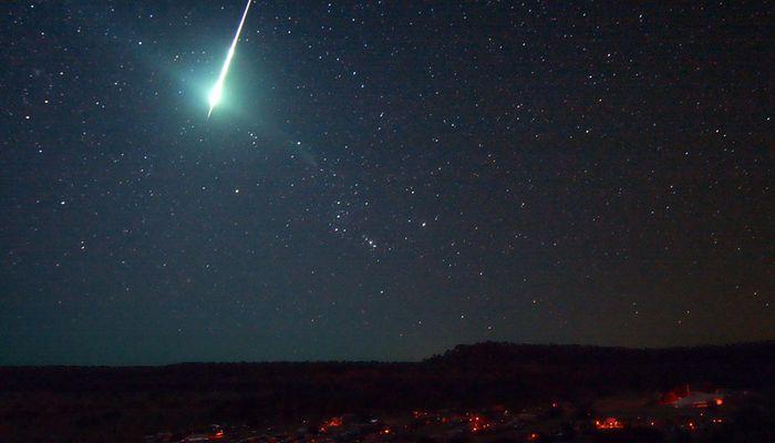 В Турции упал метеорит