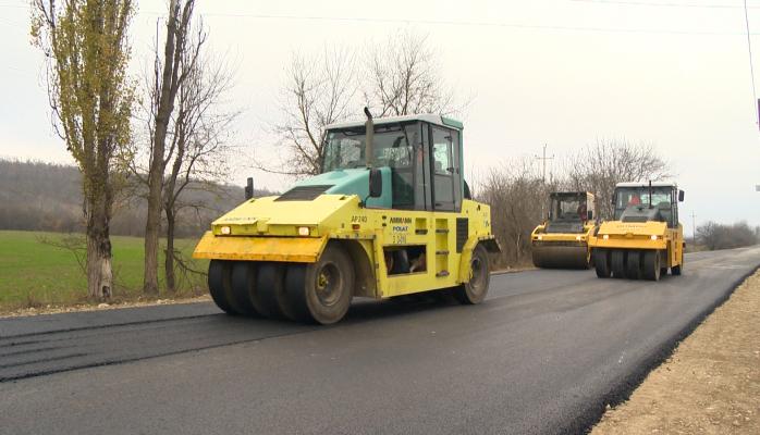 Завершается реконструкция новой части автодороги Губа-Хыналыг