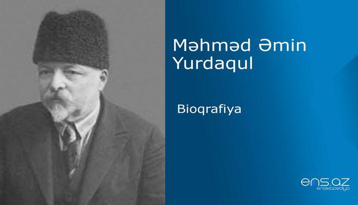 Məhməd Əmin Yurdaqul