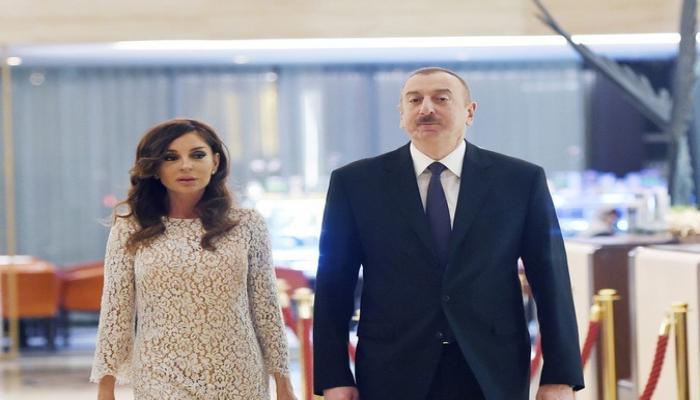 Prezident İlham Əliyev Qobustan rayonuna səfərə gedib